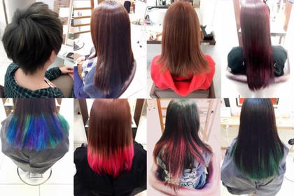 派手髪からナチュラルまで自由自在♪( ´▽`) CoL所属・うちださつきのスタイル