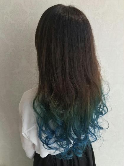 カラー グラデーション☆