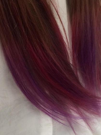 マニックパニックパニックや原色カラー剤を使った楽しいヘアカラーもご相談下さい。 56hair所属・kou艶髪師色髪師こう艶髪師色髪師のスタイル