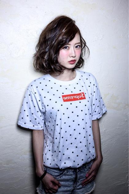 hair design anello所属・ヘアーデザインアネーロのスタイル