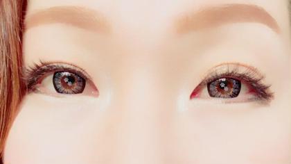 長さ、カール、デザイン、本数など全てをナチュラルに仕上げて、自然に目力UP☆ Eyelash&EyebrowEye THELash所属・EyeTHELashのスタイル