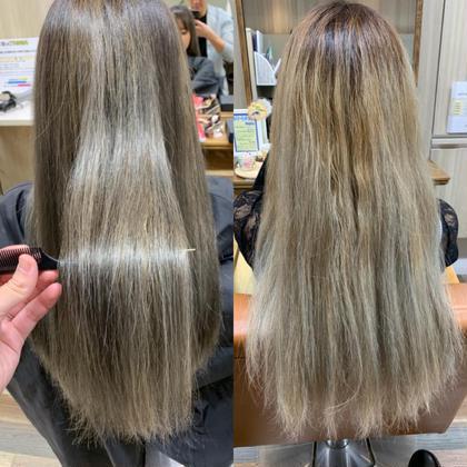 話題の髪質改善フルエステケアコース 20000円→9800円