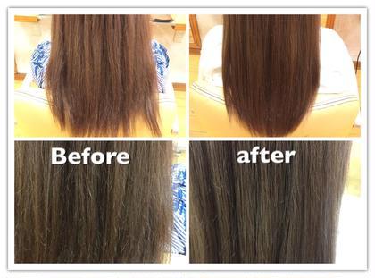 【秋限定】業界初の髪質再生トリートメント