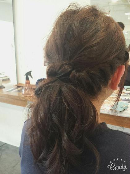 大人ポニー hair circle geep所属・和田礼のスタイル