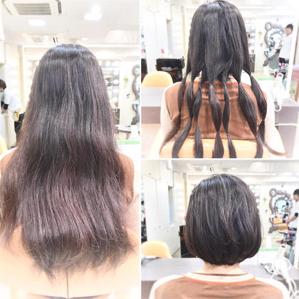 その他 ヘアドネーションcut  クセや白毛があっても大丈夫!! 31cm以上あるなら是非ご協力下さい。