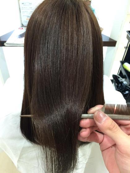 😌💭ストレスフリーな髪へ✨縮毛矯正➕シャンプー