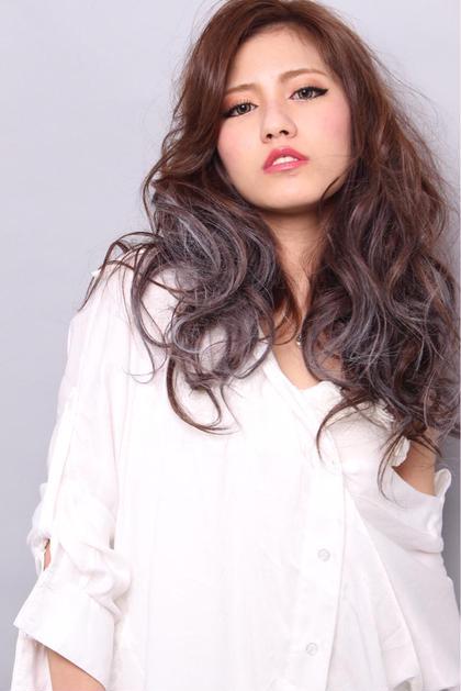 グラデーションカラーもお任せ下さい^_^ Hair Grande Seeek所属・MatsubaraYasuyukiのスタイル