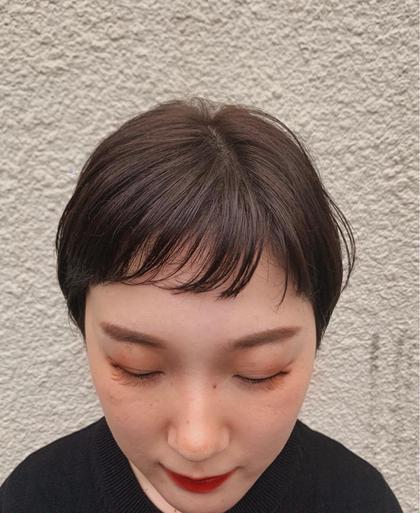 【あなたの理想のイメージに近づけます♪】前髪カット+スロウアディクシーカラー+潤つやTR