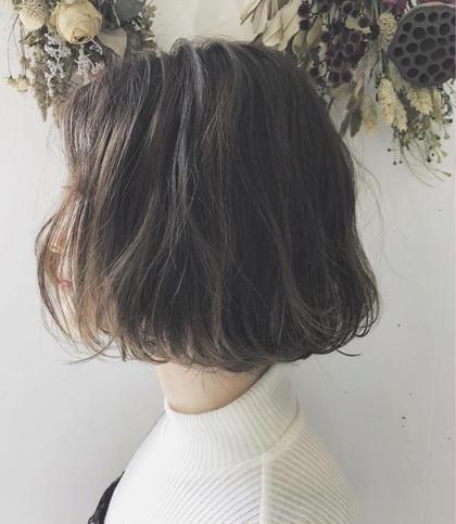 福島大生   歴10年のミディアムのヘアスタイル