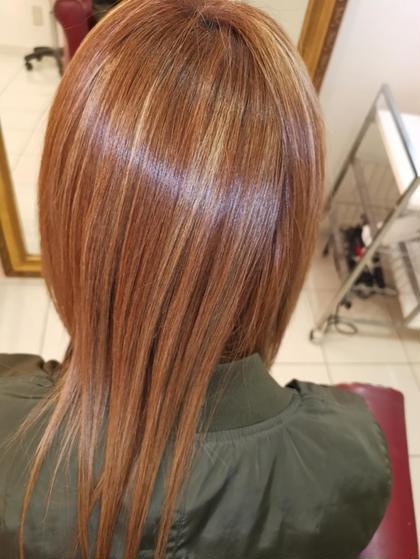 初回限定★cut+髪質改善縮毛矯正+イルミナカラー+TOKIOインカラミ5STEP