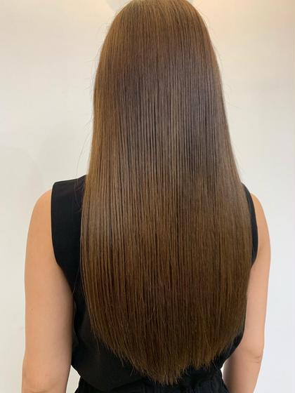 ⭐️ボリュームダウン⭐️メンテナンスカット➕髪質ケアストレート➕補修トリートメント✨