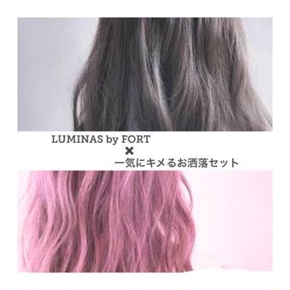 ☘【全員】 ✨似合わせカット+パーソナルヘアカラー+低ダメージパーマ+トリートメント✨