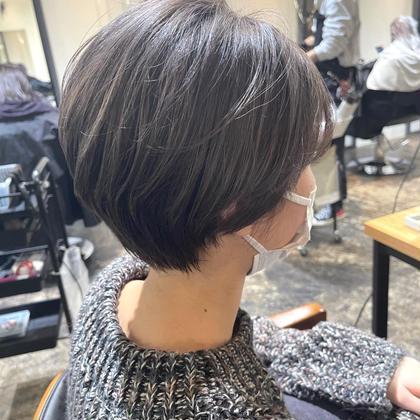 ワンカラー➕髪質改善潤いTR