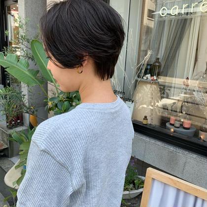 🍹夏限定メニュー🏝(ショートヘア限定)✨似合わせカット+デザインパーマモデル+最高級TOKIO IE Sh.Tr✨