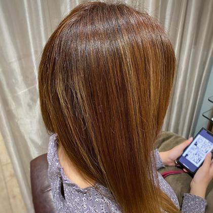 🌾秋カラー🌾髪質改善イルミナカラー+トリートメント