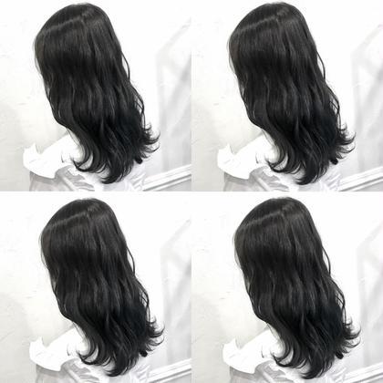 💗透明感たっぷりダークグレーカラー➕髪質に合わせたシャンプー➕4stepハホニコトリートメント💗