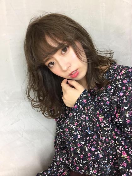 {✨New Open記念✨カット+カラー+ハホニコ1Stepトリートメント/4000