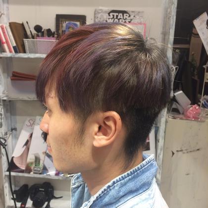 クリエイティブな感じに。 Hair&make eida所属・村上皐太のスタイル