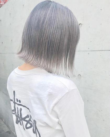 【✨ファイバープレックス使用✨】ケアブリーチ×艶カラー×ダイヤトリートメント