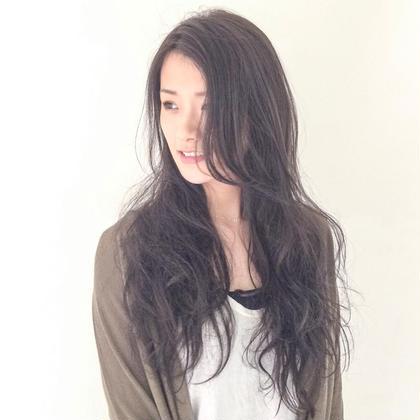 ロング 大人髪スタイル