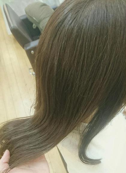 アッシュベージュブラウン♡ 赤み消しにほんのりマットの隠し味が…○ hair&make POSH所属・梶谷実里のスタイル