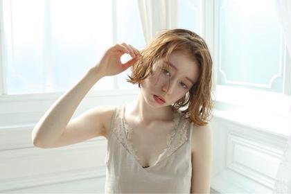 💝モテ髪💝顔周り似合わせカット+うる艶カラー+保湿トリートメント→¥4500