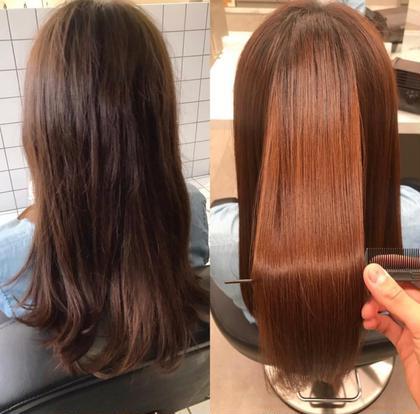 💥✨激安最強メニュー ✨💥 髪質改善ヘアエステ 似合わせカット ➕ 透明感カラー ➕ 酸熱トリートメント🧡
