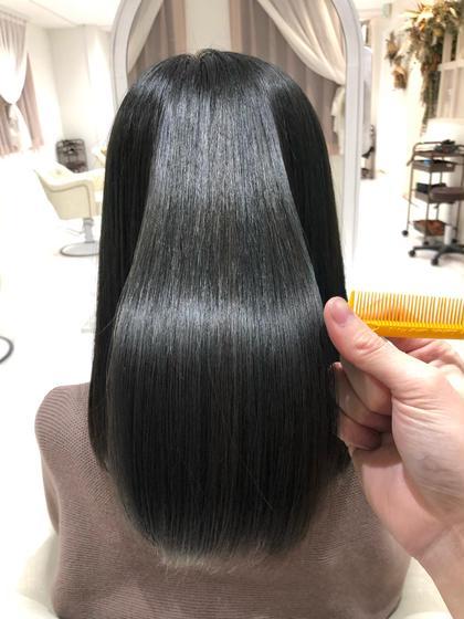 【髪質改善ヘアエステ】カット+酸熱型ケラチントリートメント