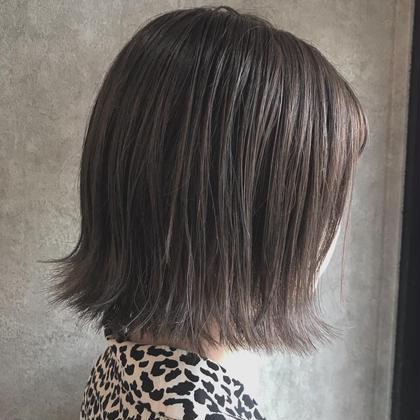 ❣️《minimo限定》前髪cut + 透明感カラー + 最高級TOKIO 5step トリートメント