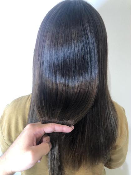 カット+髪質改善+オージュアトリートメント^_^⭐️最高級のトリートメントと、髪質改善で美髪になりましょう😍