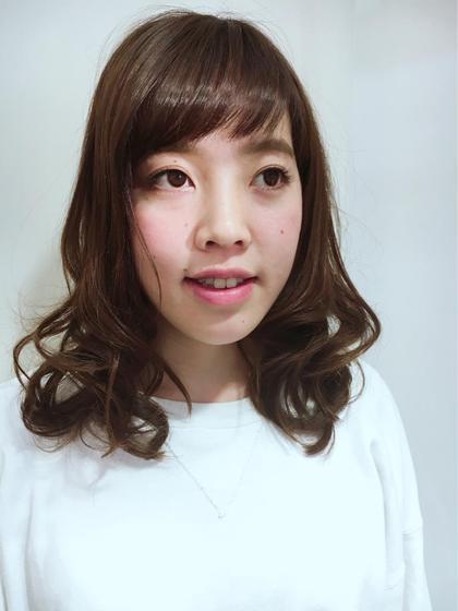 カット&3ステップトリートメント✨  うるツヤになります!  ふんわり巻き髪仕上げ(*^_^*) JOWINANDEMMA所属・村上由紀のスタイル