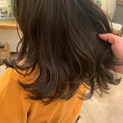 【土日祝日限定】オーガニックカラー+艶感💯3stepハホニコトリートメント❣️簡単巻き髪スタイリングも教えます🌈✨✨