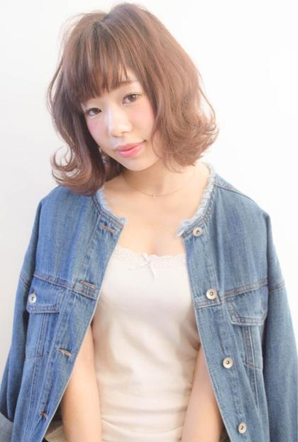 外はねドライ仕上げ❁ micotto所属・中嶋葵のスタイル