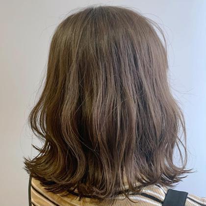 🌟【お気に入り登録2000人キャンペーン】🌟ブリーチ無しで透明感を🌟ヘアカラー&トリートメント🌟前髪カット付