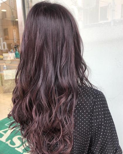 人気No.2✨イルミナカラー【80%ダメージレスカラー】&髪質改善トリートメント✨