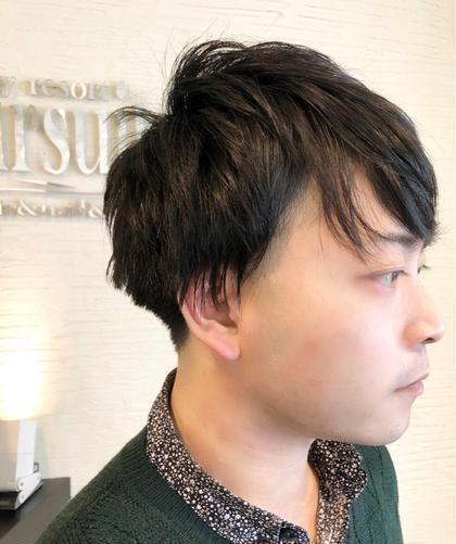 メンズ限定♦️カット♦️頭皮洗浄ジェルスパ♦️360°綺麗なシルエット