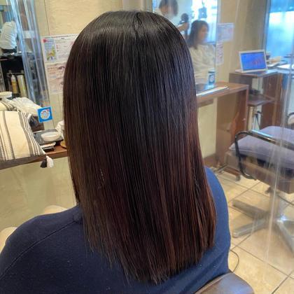 似合わせカット+髪質改善オージュアトリートメント🌿