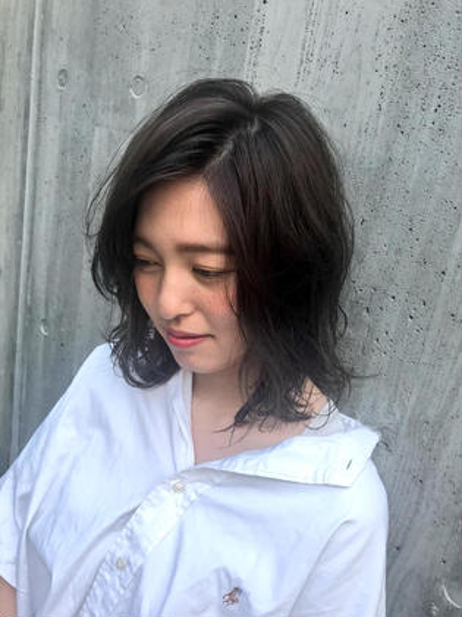 IJKOMOTESANDO所属の泉優奈のヘアカタログ