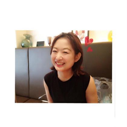 セルフエステ体験後、お客様をメーキャップ(^ ^)♡ ナリス化粧品所属・中川藍華のフォト