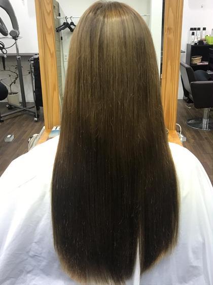 【✨素髪計画✨】広がるダメージ毛にも最適‼️髪質改善ストレート