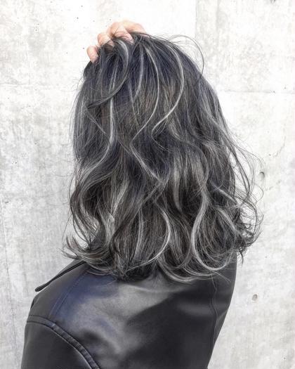 〔3Dカラーで外国人風hairに近づける!!〕  ハイライトorローライト&カラー&トリートメント
