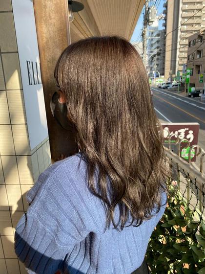 【綺麗な色が長持ち!】N.カラー¥3960