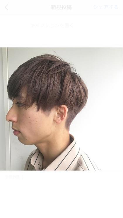 men'sのハイトーンカラーも人気☺️💛  抜けても綺麗なラベンダーグレー⭕️  ブリーチ必須です🍒  #アッシュベージュ #ラベンダーアッシュ #アッシュグレー #グレージュ 杉本佳奈のメンズヘアスタイル・髪型