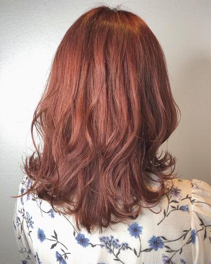 pink lavender 🌼 ・ 秋でも明るいカラー人気です!!! ・ ・ ブリーチ1回必須、 ケアブリーチ仕様なので、髪の毛の負担も少ないです☺︎