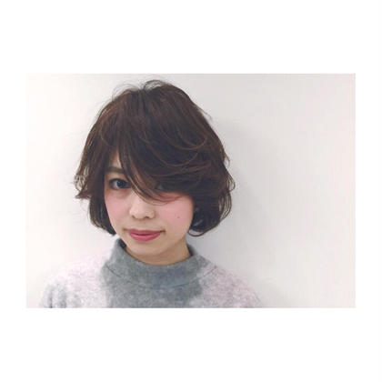 ❤︎Otona×kwaii Sweet bob❤︎  幼く見られがちなボブスタイルも、長めのバングとエアリーな毛先の動きで大人な雰囲気に❤︎ Lagoon所属・ヨシムラ ユウシ/Managerのスタイル