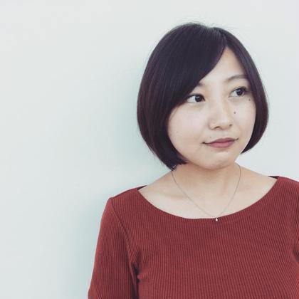 長めのバングのショートヘア knot hair&prodacts成田公津の杜所属・鈴木翔梧のスタイル