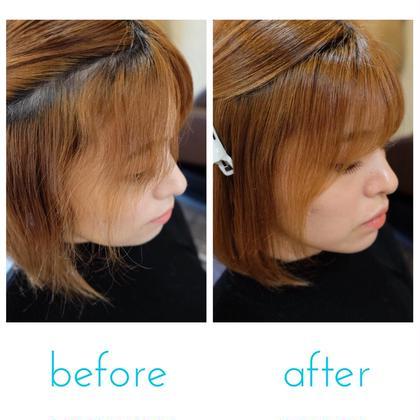 学割✂︎【髪質改善ヘアエステ&アイロンを使わない縮毛矯正】【ブリーチ毛、ハイダメージの方】