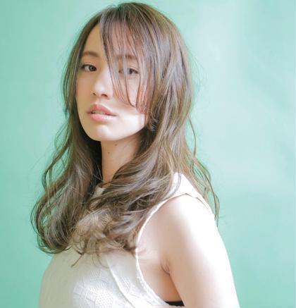 外国人風hair 抜け感 透け感 透明感で女子力アップ❤️ Zenith 所属・Kubotatakashiのスタイル