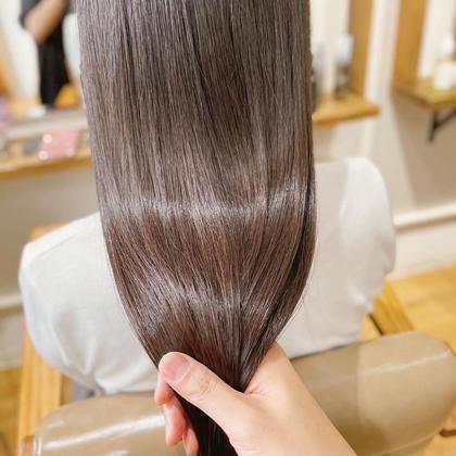 美髪を目指すなら🌸酸熱トリートメント(ハホニコ)+カラー  ¥16000