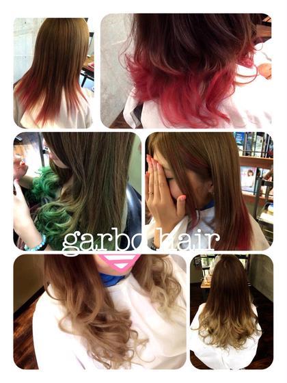 デザインカラー garbo  hair所属・下村彰のスタイル